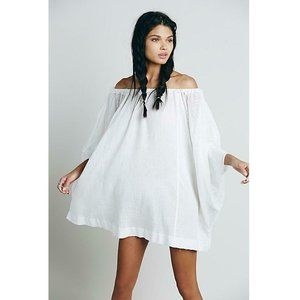 Free People Beach Dreamin Off Shoulder Dress S US
